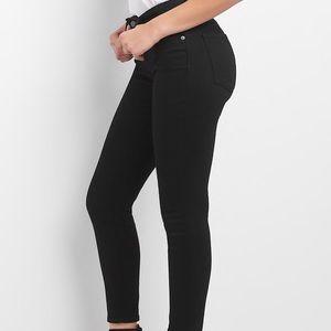 GAP curvy skinny mid rise jeans (size TALL 28)